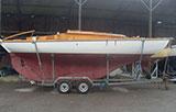 Nordic Folkboat 'Shawondasee' | £7,000, Trailer £2,500